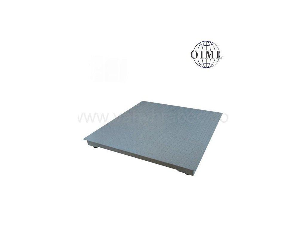 Lesák 4T1010L-MB, 600 kg, 1000 x 1000 mm, lak