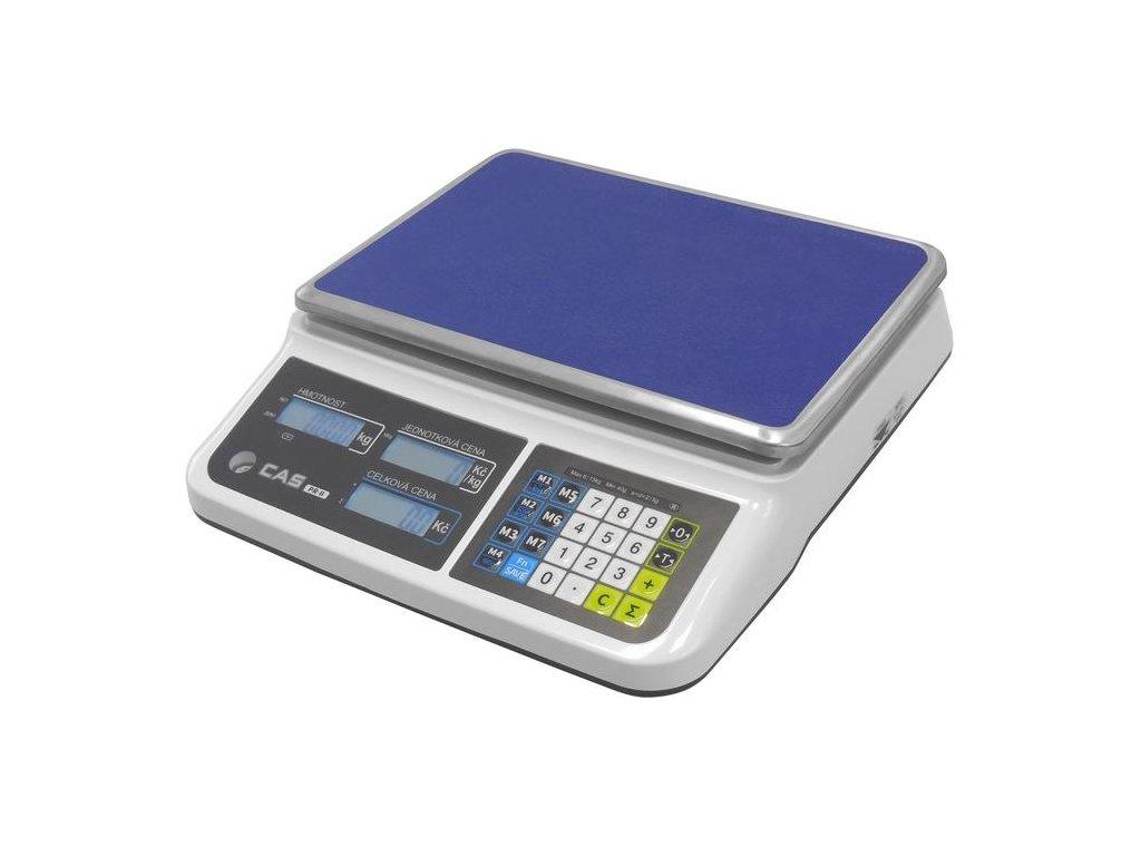CAS PR2, 6 kg / 2 g, 330 x 235 mm, obchodní váha