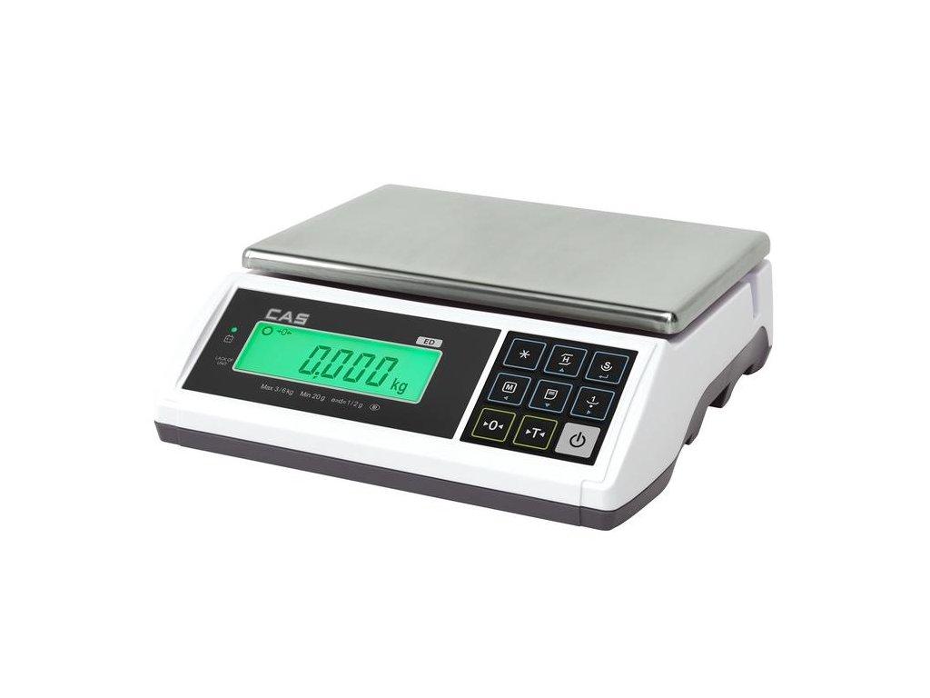 CAS ED, 6 kg / 2 g, obchodní váha