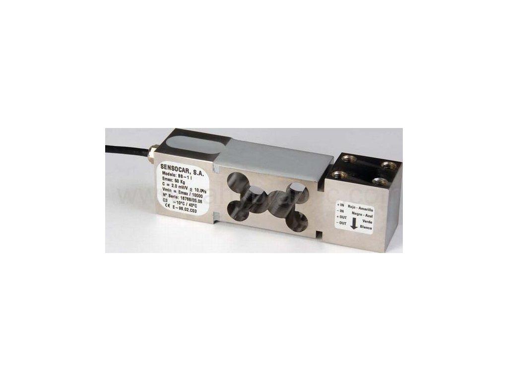 Sensocar, tenzometrický snímač nerezový BS-1 (500kg)