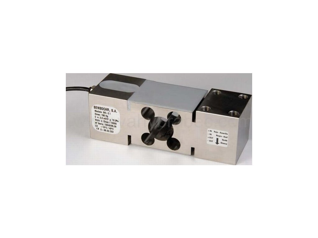Sensocar, tenzometrický snímač nerezový BS-2 (300kg)