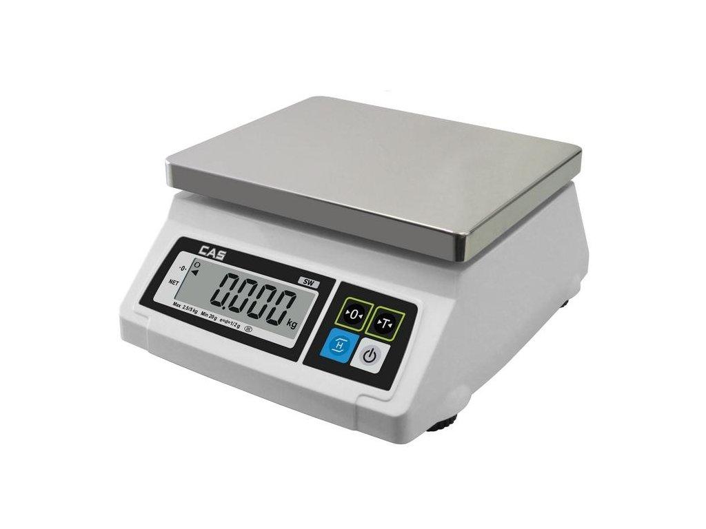 CAS SW 1S-10DR, 10 kg / 5 g, 230 x 190 mm