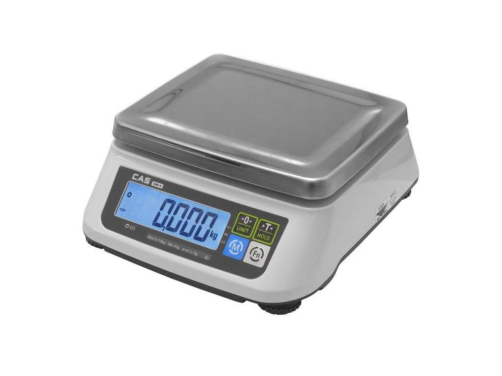 CAS SW2, 15 kg / 5 g , kuchyňská váha