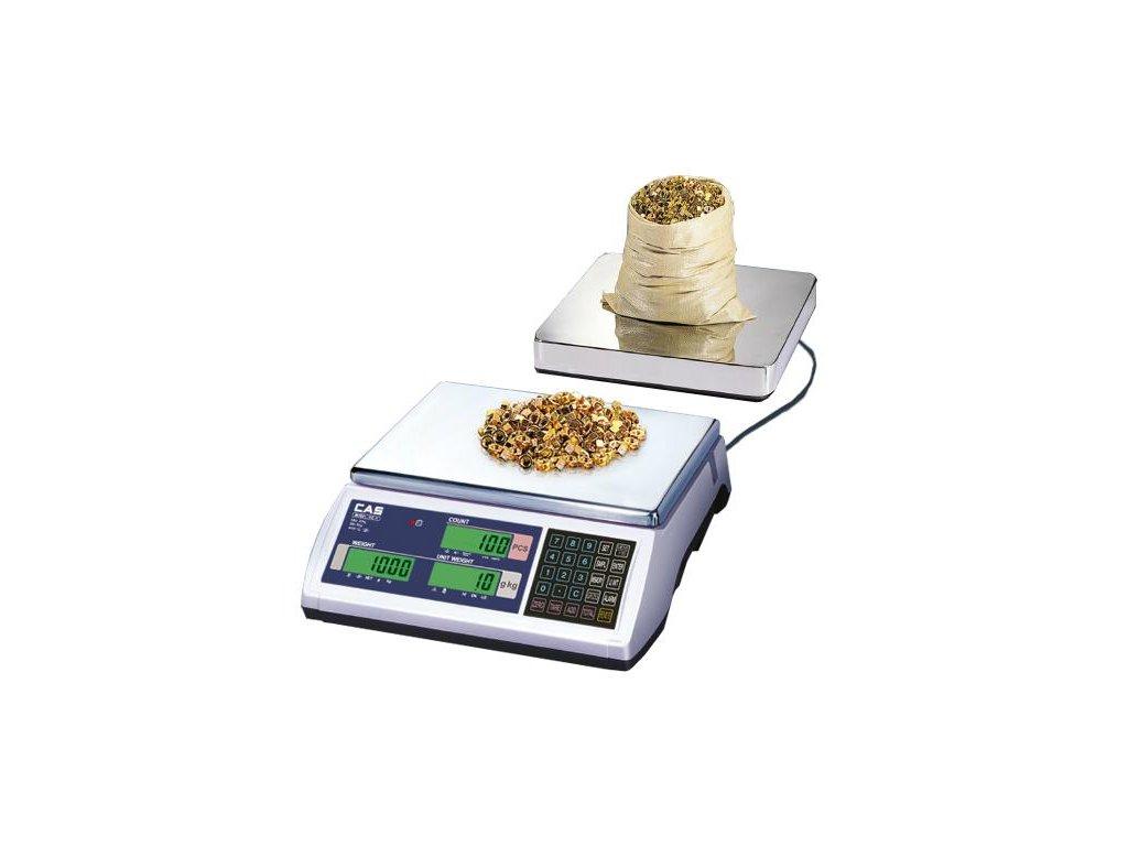 CAS EC-2, 15 kg / 0, 5 g, počítací váha