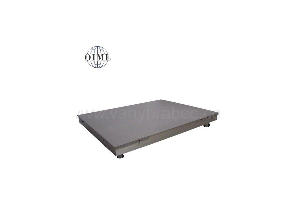 Lesák 4T1010PN, 600 kg, 1000 x 1000 mm, nerez