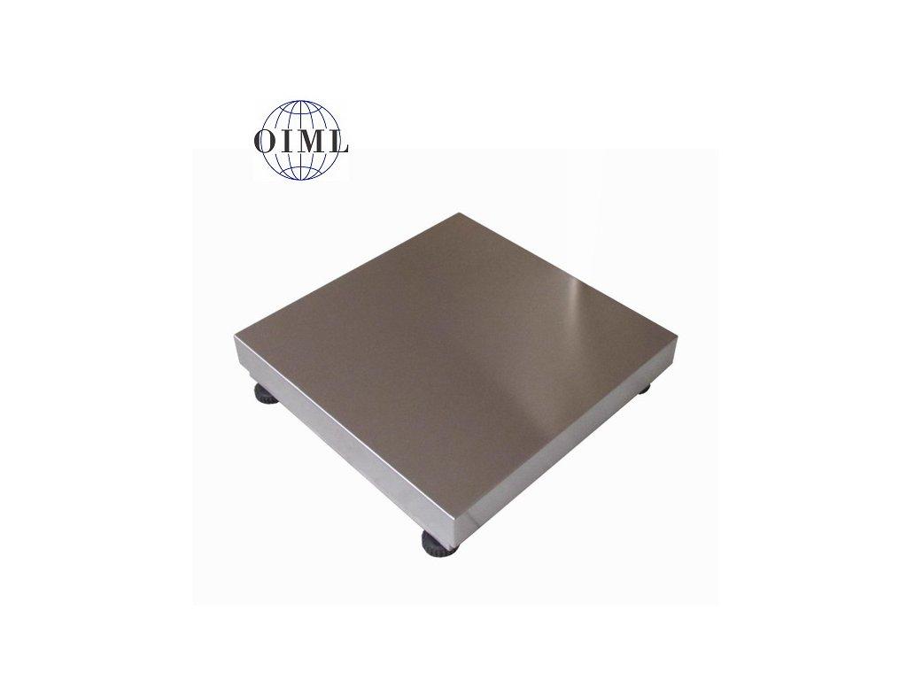 Lesák 1T8080NN, 300 kg, 800 x 800 mm, nerez