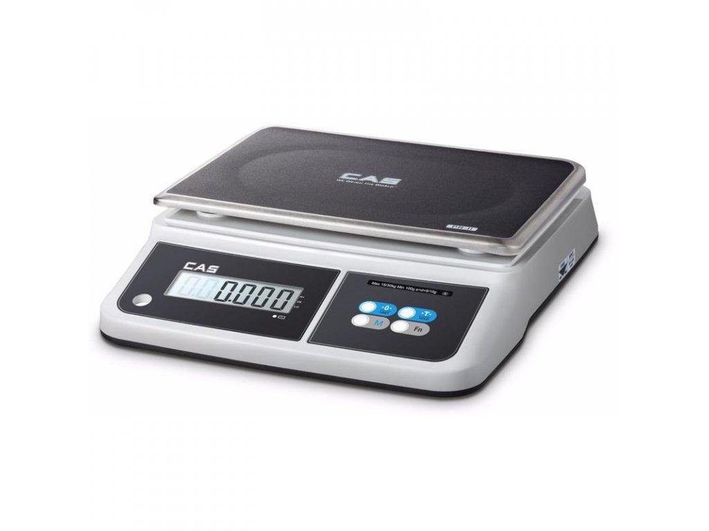 CAS PR2-D, 15 kg / 5 g, stolní kuchyňská váha