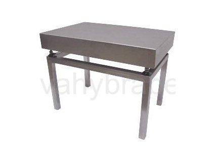 Nerezový stolek VS6060/500 pod váhy 1T6060