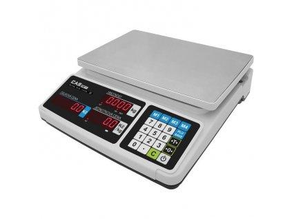 CAS PR PLUS, 15 kg / 5 g, 320 x 210 mm, obchodní váha