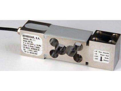 Sensocar, tenzometrický snímač nerezový BS-1 (300kg)