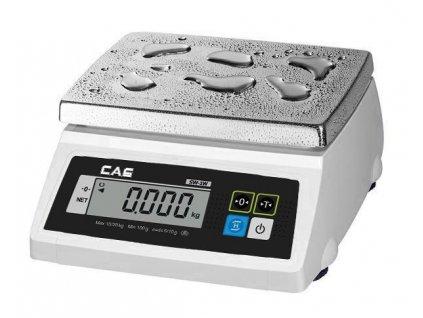 CAS SW 1W, 20 kg / 10 g, voděodolná kuchyňská váha