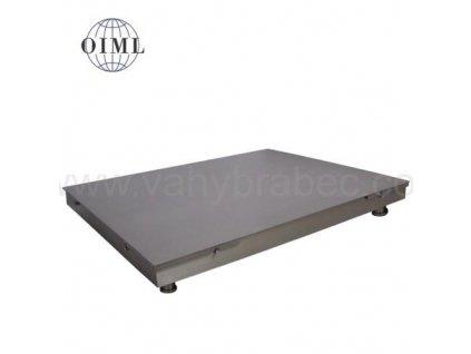 Lesák 4T0810PN, 1500 kg, 800 x 1000 mm, nerez