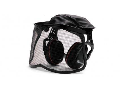 Husqvarna chrániče sluchu se štítem ze síťky
