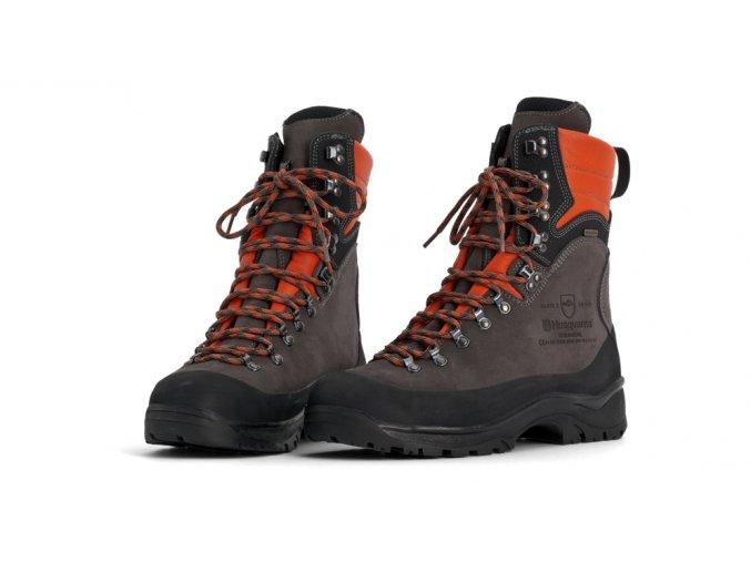 Husqvarna ochranná kožená obuv Technical s ochranou proti proříznutí 24 m/s