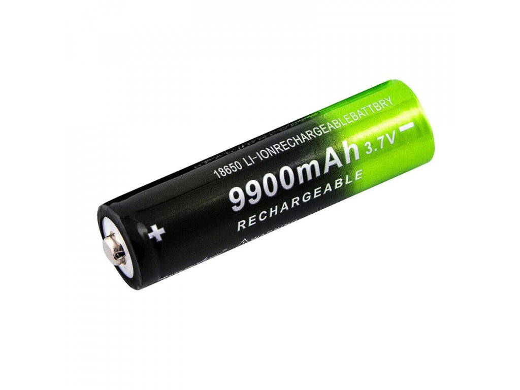 Nabíjecí baterie Li-Ion 18650 3,7 V 9800mAh 5C