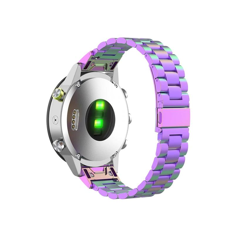 Garmin Fenix 5S Garmin Fenix 6S náhradní řemínek ocelový nerezový Barva: 7 barev, Zapínání náramku: přezka
