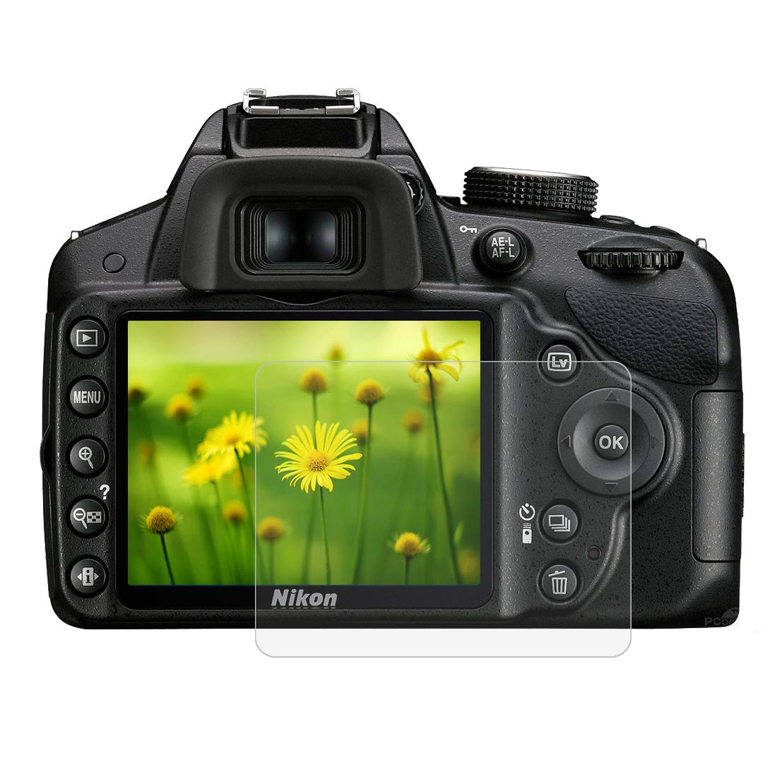 Tvrzené sklo pro digitální fotoaparát NikonD3500 Nikon D3400 Zabaleno v: v OPP sáčku