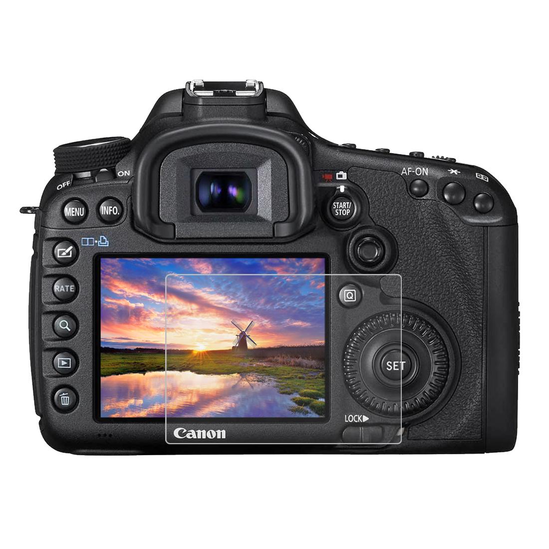 Tvrzené sklo pro digitální fotoaparát Canon EOS 5D Mark VI 5D Mark III 4870 Zabaleno v: v OPP sáčku