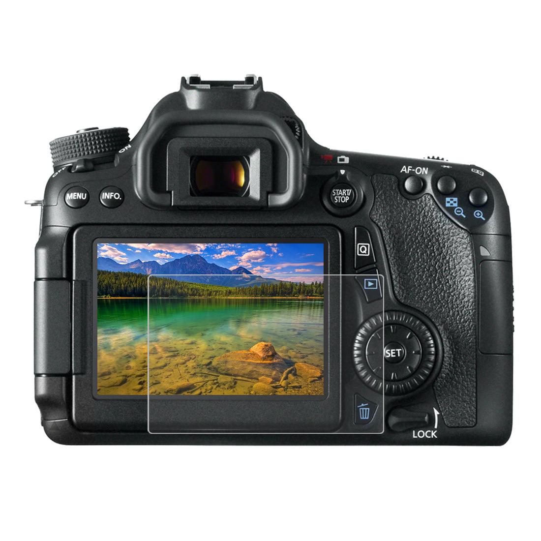 Tvrzené sklo pro digitální fotoaparát Canon Rebel T4i Rebel 5i Rebel 6i Rebel 6S Rebel 7i 4566 Zabaleno v: v OPP sáčku