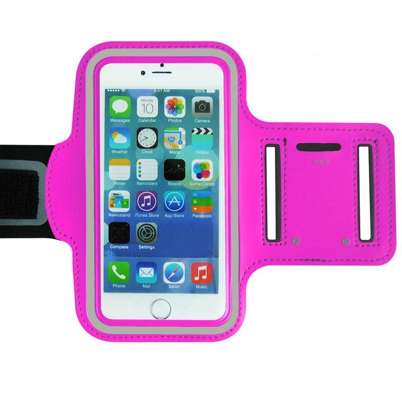 Univerzální pouzdro pro běh a další na paži pro mobily do 5,5´´ ARMBAND Barva: růžová