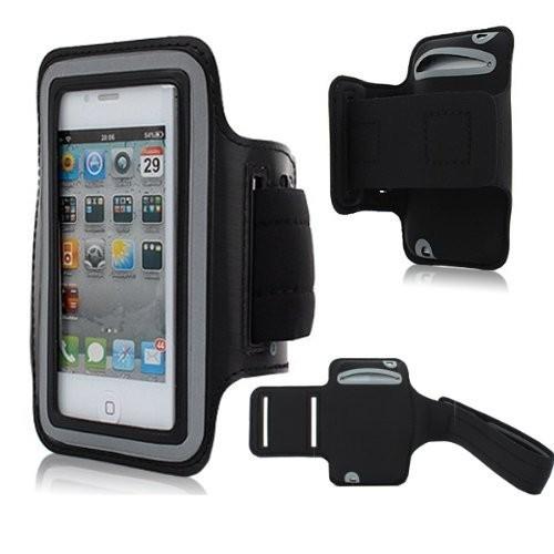 Univerzální pouzdro pro běh a další na paži pro mobily do 5,5´´ ARMBAND Barva: černá