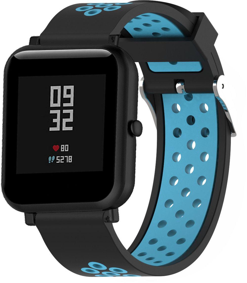Náhradní řemínek šířka 22 mm Samsung Galaxy Watch 3 Huawei Watch GT 2 PRO Xiaomi GTR 47 mm a další 2204 Barva: tyrkysová s černou