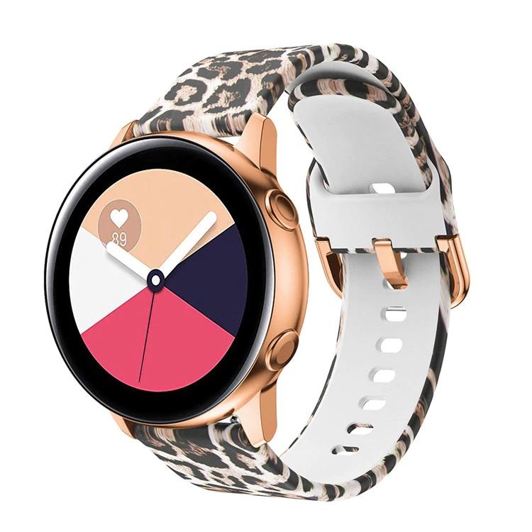 Náhradní řemínek univerzální s potiskem šířka 20 mm Samsung Galaxy Watch 42 mm Xiaomi GTS GTR 42 mm BIP a další 2005 Motiv, barva náramku: Motiv…