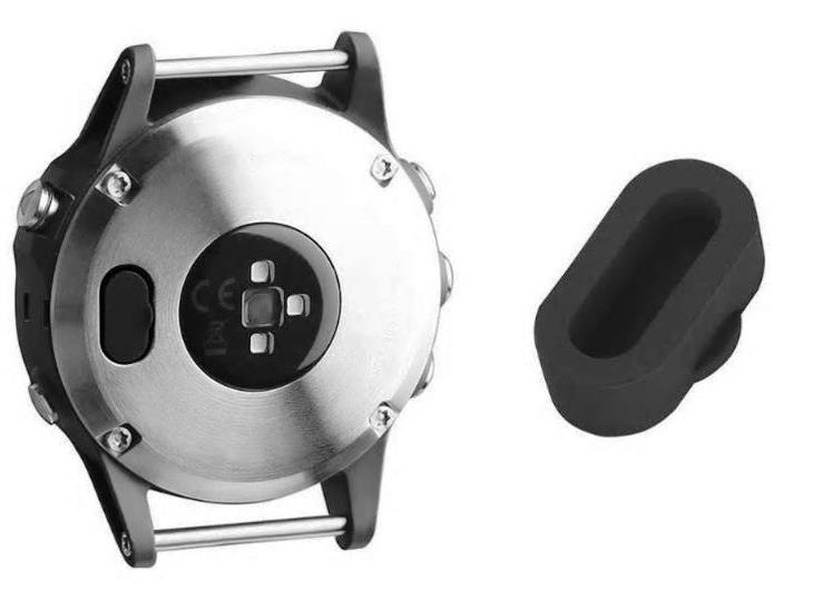 Záslepka nabíjecího konektoru pro Garmin Fenix 5 a Garmin Fenix 6