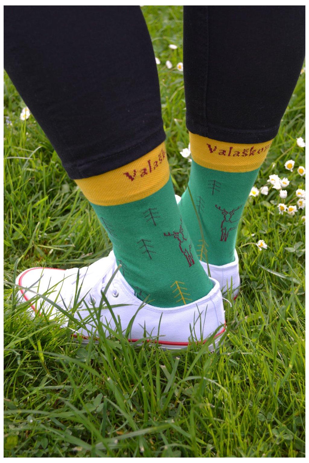 Ponožky s jelenem
