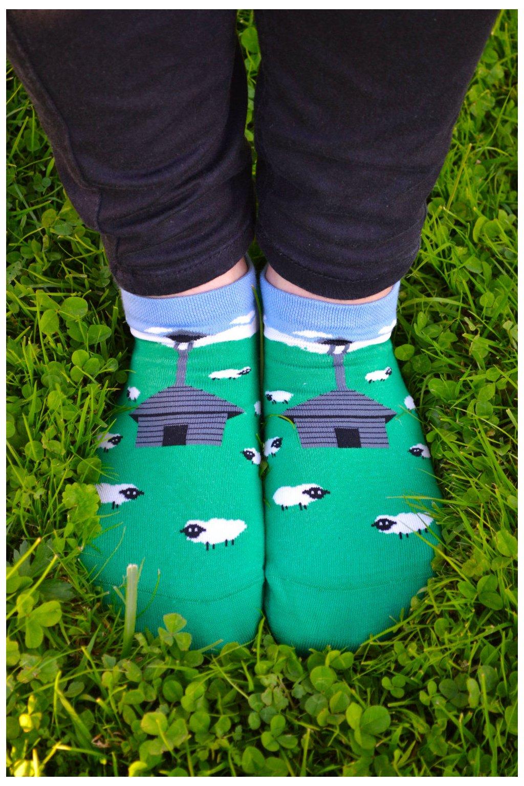 Kotníkové ponožky Zvonička