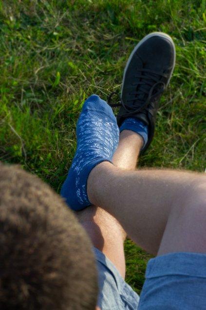 Valašské kotníkové ponožky