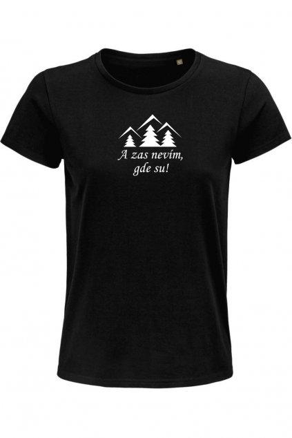 Ztracen v lese tričko