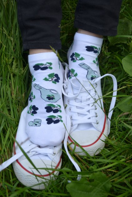 Kotníkové ponožky Trnky a slivovice