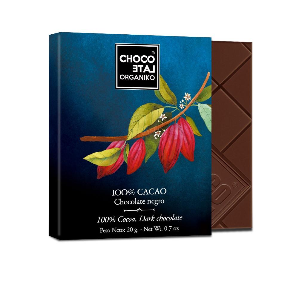 chocolate 100% organiko