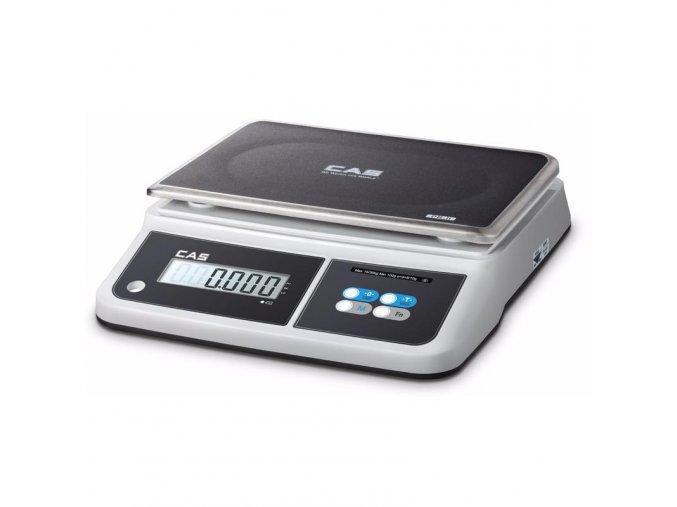 CAS PR2-D do 15kg  Ověřená kuchyňská (gastro) váha