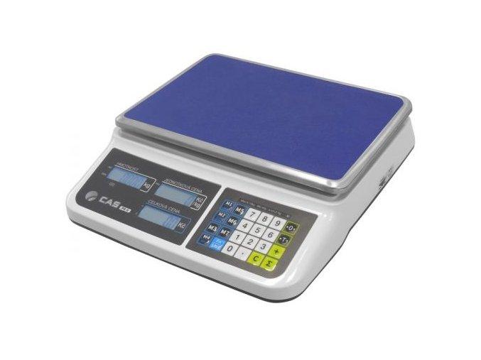 CAS PR2 do 15kg  Ověřená obchodní váha