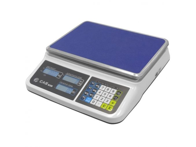 Obchodní váha CAS PR2  Ověřená obchodní váha