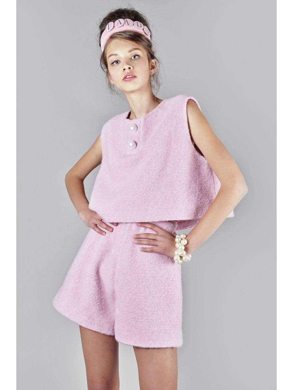 Apresski wool top