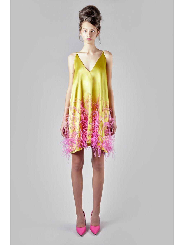 My summer silk dress
