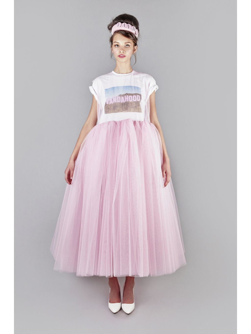 I don't care tulle dress