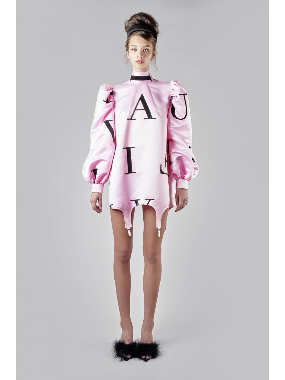 Status pink dress