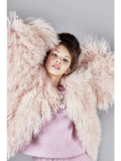 FTD pink fur coat