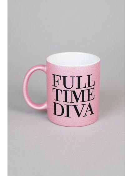 FULL TIME DIVA mug