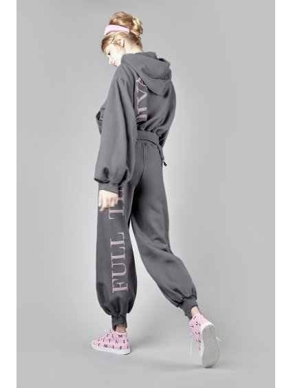 Vandahood sweatpants gray