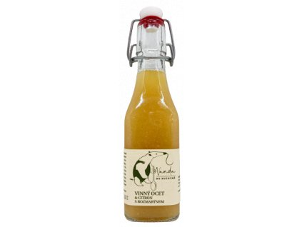 Vinný ocet & citron s rozmarýnem