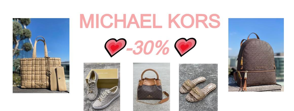 MICHAEL KORS SLEVA 30%