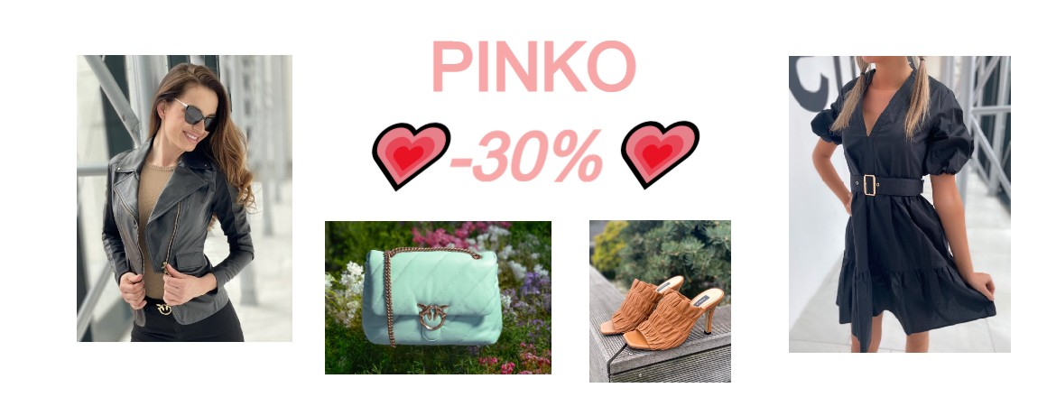 PINKO SLEVA 30%