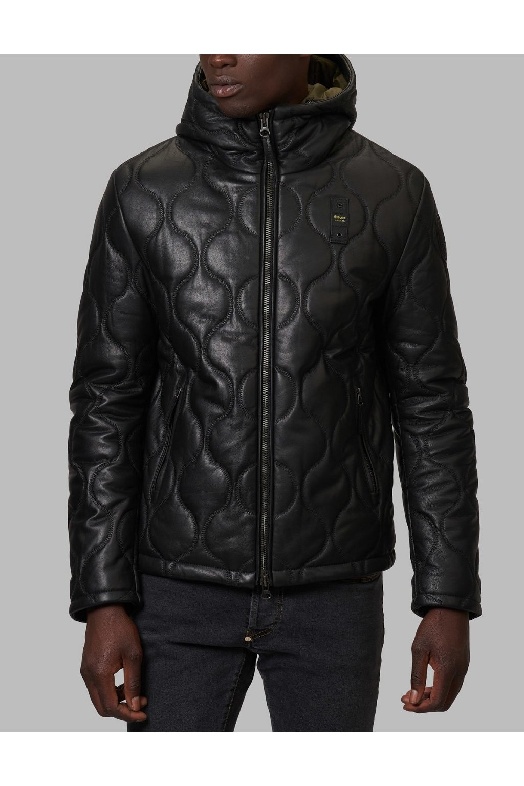 Pánská bunda Blauer 21WBLUL01210 černá