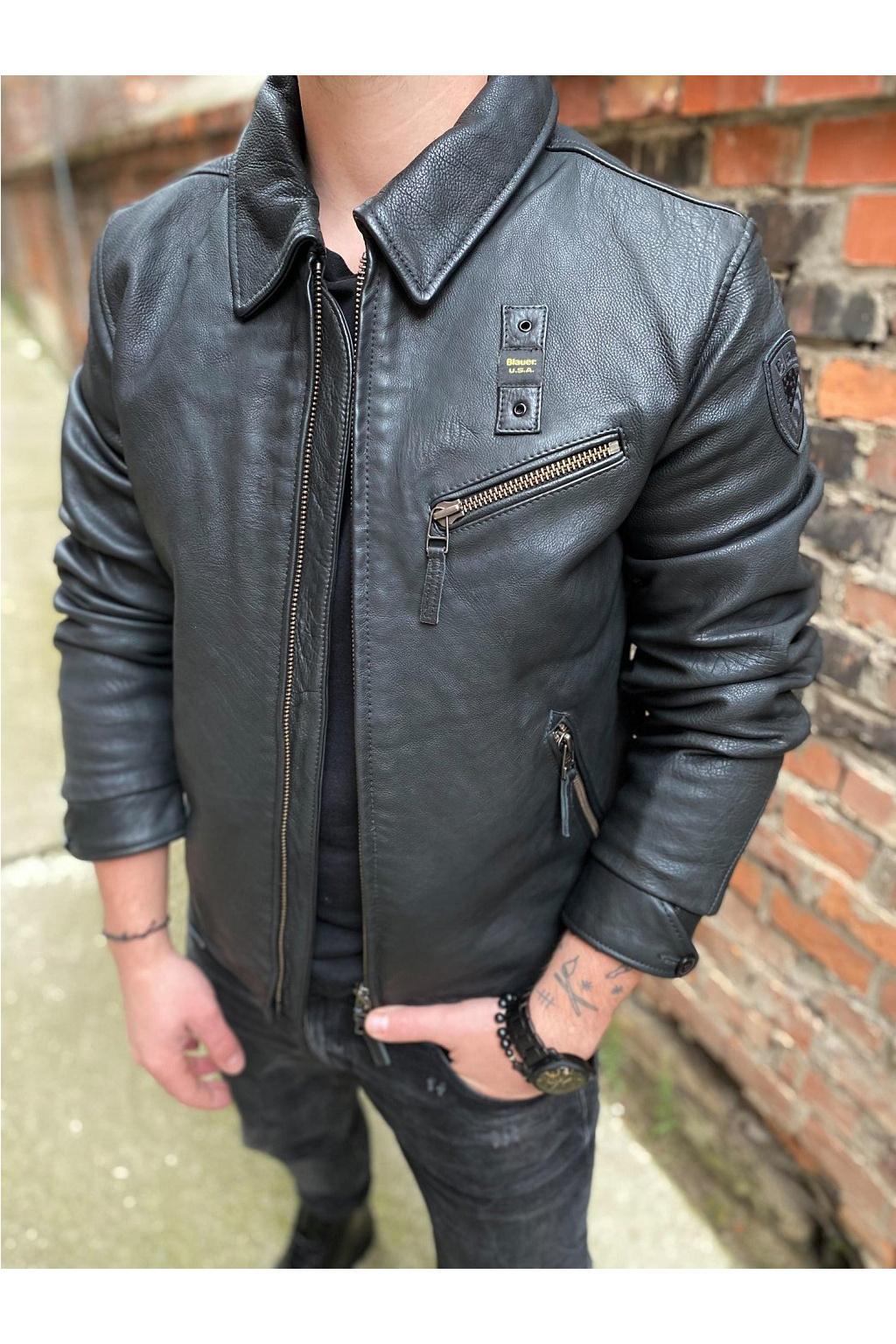 Pánská bunda Blauer 21WBLUL01208 černá
