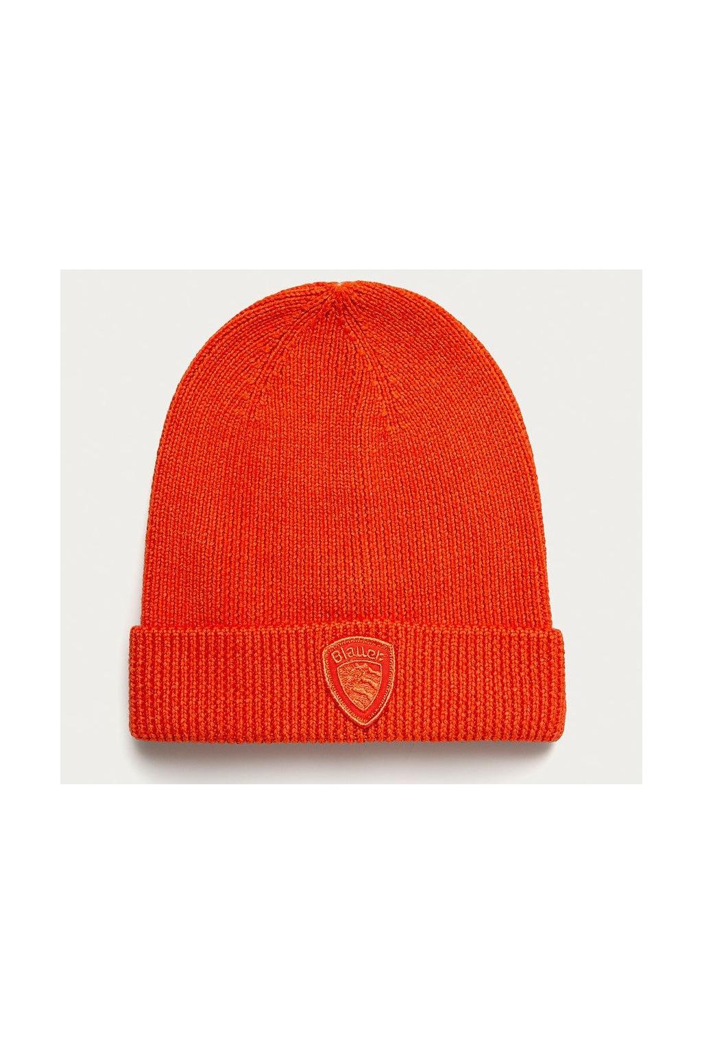 Pánská čepice Blauer 21WBLUA05148 oranžová